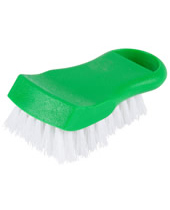 Cutting Board Brush Green With Polyester Fibrefill Length 6''