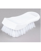 Cutting Board Brush White With Polyester Fibrefill Length 6''