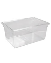 Polycarbonate Food Storage Container NSF 65 L 18''x26''x12''