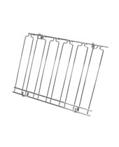 Overhead Glass Racks 5 Channels 18''x24''x4'' Chrome