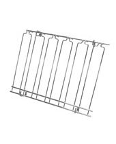 Overhead Glass Racks 11 Channels 18''x48''x4'' Chrome Plated