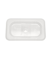 1/9 Size Solid Cover For Food Pan Polycarbonate NSF