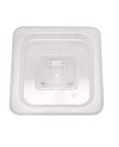 1/6 Size Solid Cover For Food Pan Polycarbonate NSF