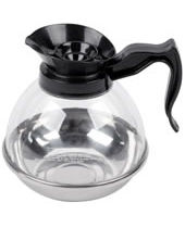 Acrylic Coffee Decanter With S/S Bottom Black Handle