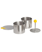 4 Pieces Round Food Molding Set