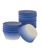 Blue Stripe Paper Baking Cups 1.94