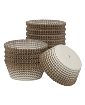 Gold Stripe Paper Baking Cups 1.94