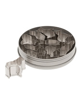 Animal Cutter Set 10 Piece (Stainless Steel)