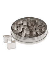 Numbers Cutter Set 9 Piece (Stainless Steel)