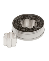 Plain Daisy Cutter Set 6 Piece  (Stainless Steel)