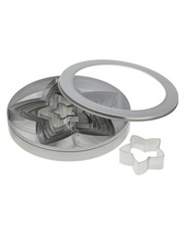 Star Cutter Set 8 Piece ( Stainless Steel)