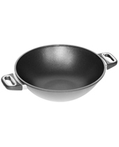 Wok 32Cm, 11Cm High With Two Side Handles