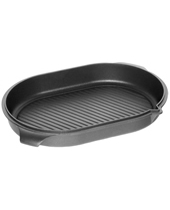 Lid For Roasting DishW. Grillbottom 41x25x6Cm With Juice Rim And Spout