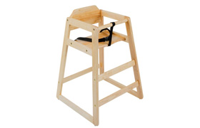 High Chair And Tray Stand
